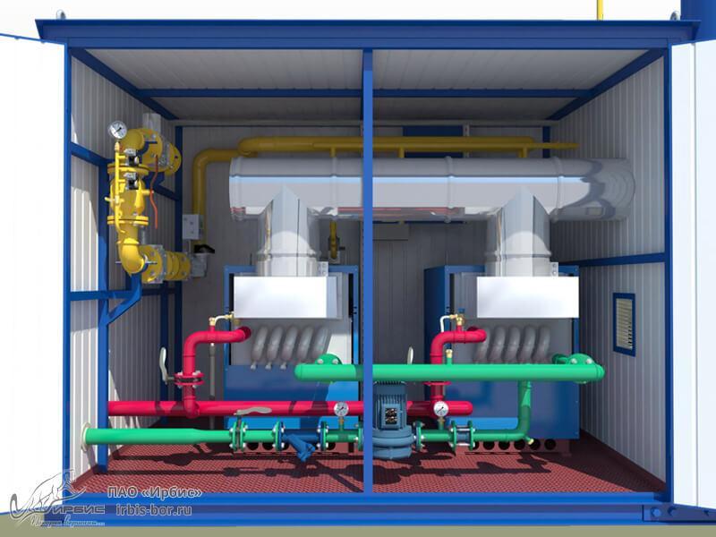 Газовые мини котельные от производителя