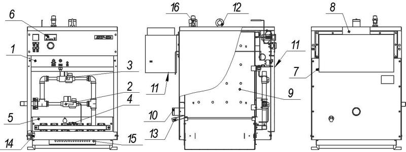 Схема котла Хопер с КСУБ-20.05