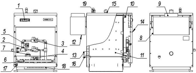 Схема котла Хопер с КСУБ-20.10