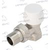 """Вентиль угловой термостатический для стальных труб 1/2"""" Pro Aqua"""